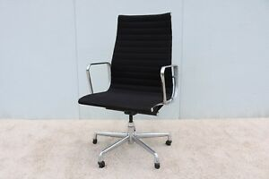 1958 Herman Miller Eames Aluminum Group High Back Executive Chair