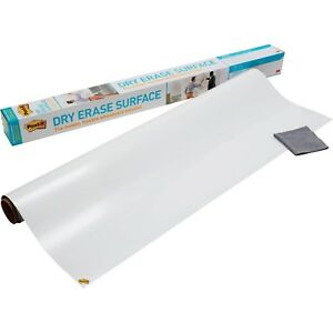 Dry Erase Surface Self Stick Film 8 X 4 ft For Vertical And Horizontal Surfaces