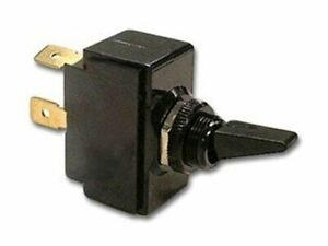 Toggle Switch Black Nylon 20 A At 250 Vac On off Spst 2 Term 2pack
