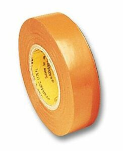 Electrical Tape Orange 66 Foot Roll 3 4 Inch Wide Ul510 Csa 5pack