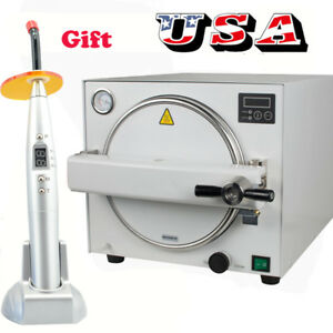 Portable Dental Autoclave Sterilizer Medical Equipment Sterilization 18l curing