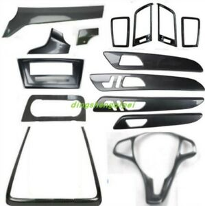Carbon Fiber Style Car Interior Kit Cover Trim For Mercedes benz Ml 2012 2015