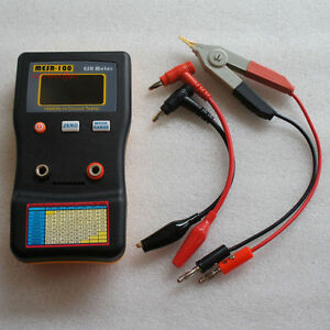 Mesr 100 V2 Esr low Ohm In Circuit Test Capacitor Meter Include Smd Clip Probe