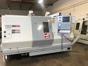 Used Haas Sl 30t Cnc Turning Center Lathe Tailstock 10 Chuck Tool Setter