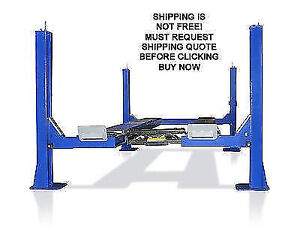 New Open Front 14k 14000 Lb Capacity 4 Post Car Truck Lift Alignment Lift