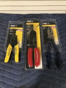 Klein Tools Electrical Wire Stripper cutter Lineman s Pliers 6in1 Tool