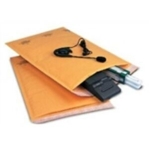 100 2 8 1 2 X 12 Kraft Self seal Bubble Mailer recycled Gold