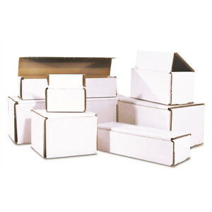50 5 X 5 X 5 Corrugated Mailer Ships Flat And Fold Together In Seconds