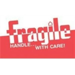 1000 dl1160 3 X 5 Fragile Handle With Care Label