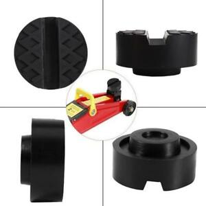Slotted Frame Rail Floor Jack Lift Rubber Pad Adapter For Pinch Weldside Yu 301