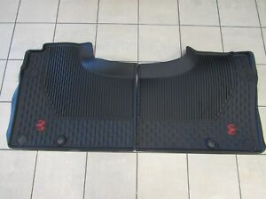 2019 Dodge Ram Rebel Crew Cab All Weather Rubber Rear Floor Mats Mopar