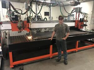 Rebuilt Cnc Gas Tourch Plasma Cutting Machine