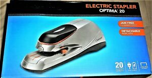 Acco Swingline Optima 20 Electric Stapler Brand New Free Shipping