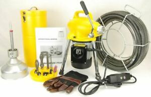 S75 Bluerock 3 4 To 4 Sectional Pipe Drain Cleaning Machine Snake Cleaner