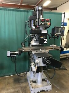 2005 Kent Mill Ktm 3vsf 2 3 Axis Cnc Knee Mill W Quickchange Tooling Package