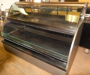Refrigerated Deli Case Dual Zone From Encore Excellent Condition