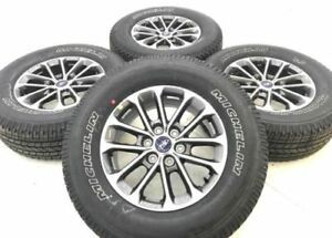 18 Ford F150 F 150 Oem Rims Wheels Tires Michelin Owl Factory 10169 Set Of 4