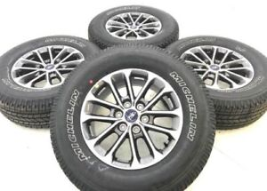 Ford F150 F 150 18 Oem Rims Wheels Tires Michelin Owl Original 10169 Set Of 4