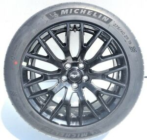 19 Ford Mustang Gt Oem Rims Wheels Tires Michelin Staggered Set X4 10036 10038