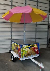 Lemonade Tea Concession Cart