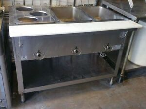 Duke Commercial 3 Compartment Hot Food Steam Table