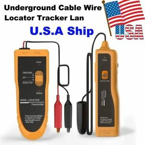 Usa Shipping Nf 816 Underground Cable Wire Locator Tracker Lan With Earphone