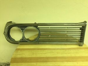 1959 Edsel Corsair Driver s Side Grill With Head Light Bezel 2 Pieces