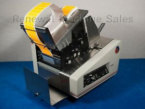 Astro Machine Corp Als 9300 Labeler For Labeling With Mailing Machine Labels