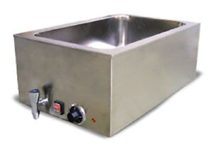 Fma Omcan 19076 Food Soup Chili Cheese Warmer With Drain Fw cn 0023