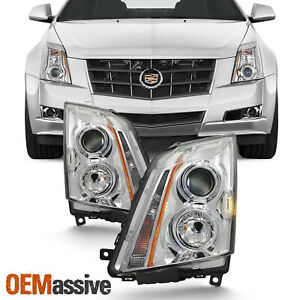Fits 2008 2014 Cadillac Cts Headlights Lights Light Replacement Left right 08 14