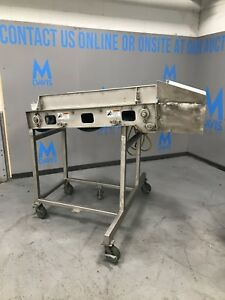 2009 Mtc 57 l Portable Powerbelt S s Incline Conveyor