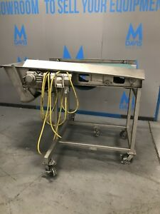 2009 Mtc 56 l Portable Powerbelt S s Conveyor