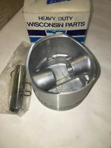 Teledyne Wisconsin Engines Piston Assembly Db234 Nos Oem Made In Usa