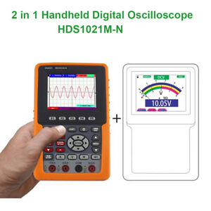 3 7 2in1 Tft Display 20mhz Hds1021m n Digital Oscilloscope Scpi Dso multimeter