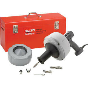 Ridgid K 39 Af Power Feed Drain Cleaner 25ft 5 16 Cable