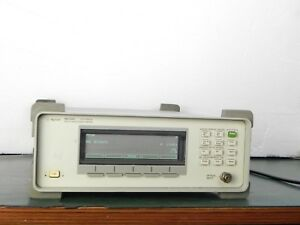 Hp Agilent 86120c Lightwave Optical Wavelength Meter 1270 1650mm 86120 86120b
