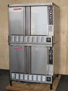 Blodgett Zephaire Gl Gas Double Stacked Convection Commercial Oven Full Size