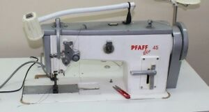 Pfaff Eco 45 Walking Foot Industrial Sewing Machine With Table And Motor