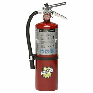 Buckeye 10914 Abc Multipurpose Dry Chemical Hand Held Fire Extinguisher With And