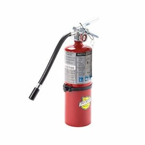 Buckeye 25614 Abc Multipurpose Dry Chemical Hand Held Fire Extinguisher With And
