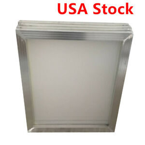 Usa 6pcs 18 X 20 aluminum Screen Printing Screens With 110 White Mesh Count