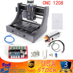 3 Axis Mini Mill Usb Cnc Router Wood Carving Engraving Pcb Milling Machine Diy