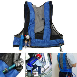 New Cooling Vest Welding Compressed Air Vortex Tube Air Conditioning Waistcoat