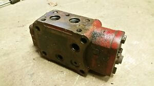Ih Farmall International 300 350 Double Action Hydraulic Valve