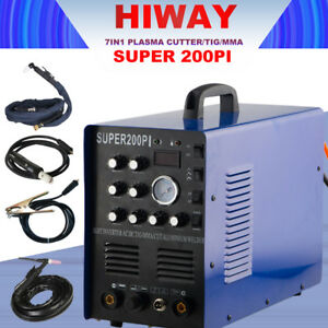Inverter Ac Dc Pulse Tig arc cut Machine Super200pi Aluminum Welder 220v Hot