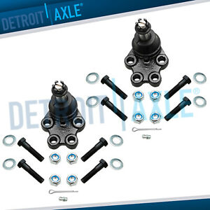 Pair Front Suspension Lower Ball Joints For Silverado 1500 Rwd 2wd Only