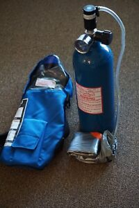 Self contained Compressed Air Breathing Apparatus 10 Minute For Escape Only