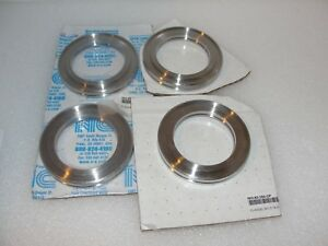 Nor cal Pfeiffer Vacuum Iso 63 250 of Flange 3 74x2 5 Lot Of 4 New