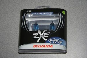 Sylvania Silverstar Fog Zxe 9145 Pair Set Headlight Bulbs Xenon Fueled New