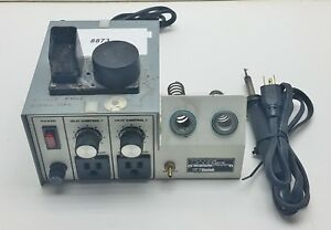 Pace Soldering Station 7008 0114 With Iron 8873